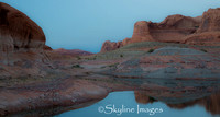 Lake Powell; Confluence of the San Juan Arm