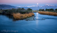 Predawn Moonset, Owens Valley, CA