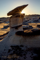 Sunrise Hoodoo, Bisti Badlands NM