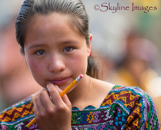 Beauty, La Joya School, Guatemala